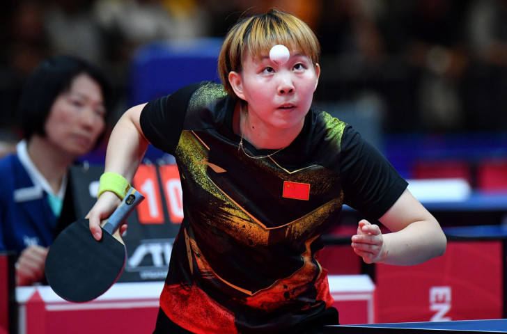 China's Zhu Yuling will seek to retain her ITTF Women's World Cup title in her home city of Chengdu - but her opposition includes China's Rio 2016 champion Ding Ning and powerful Japanese players Kasumi Ishikawa and Miu Hirano ©Getty Images