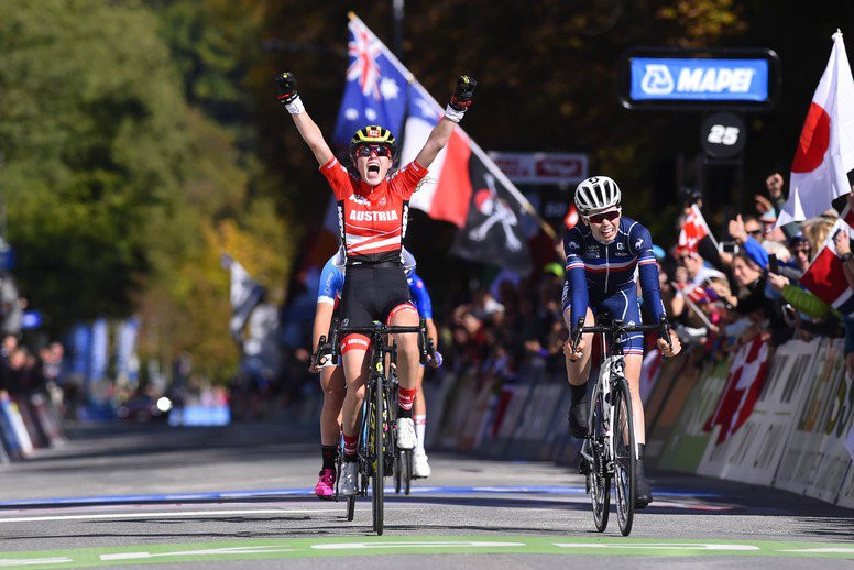 Stigger and Evenepoele get double golden feeling at UCI Road World Championships in Innsbruck