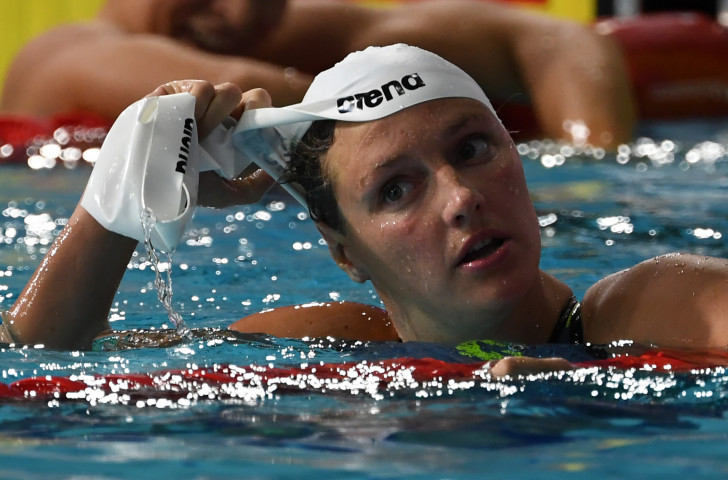 Hungary's Olympic champion Katinka Hosszu, currently second in this year's FINA World Cup standings behind Sweden's Sarah Sjostrom, will be pushing hard for the lead when the third event of the season starts in Eindhoven tomorrow ©Getty Images
