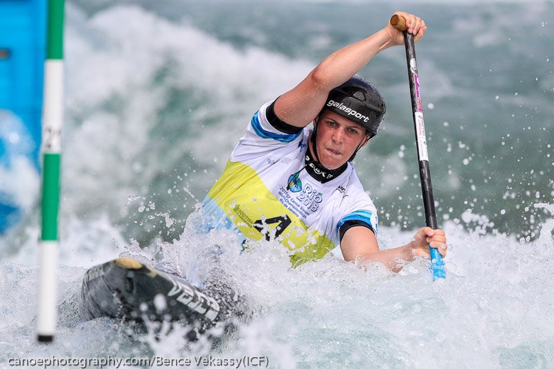 Fox continues domination at ICF Canoe Slalom World Championships