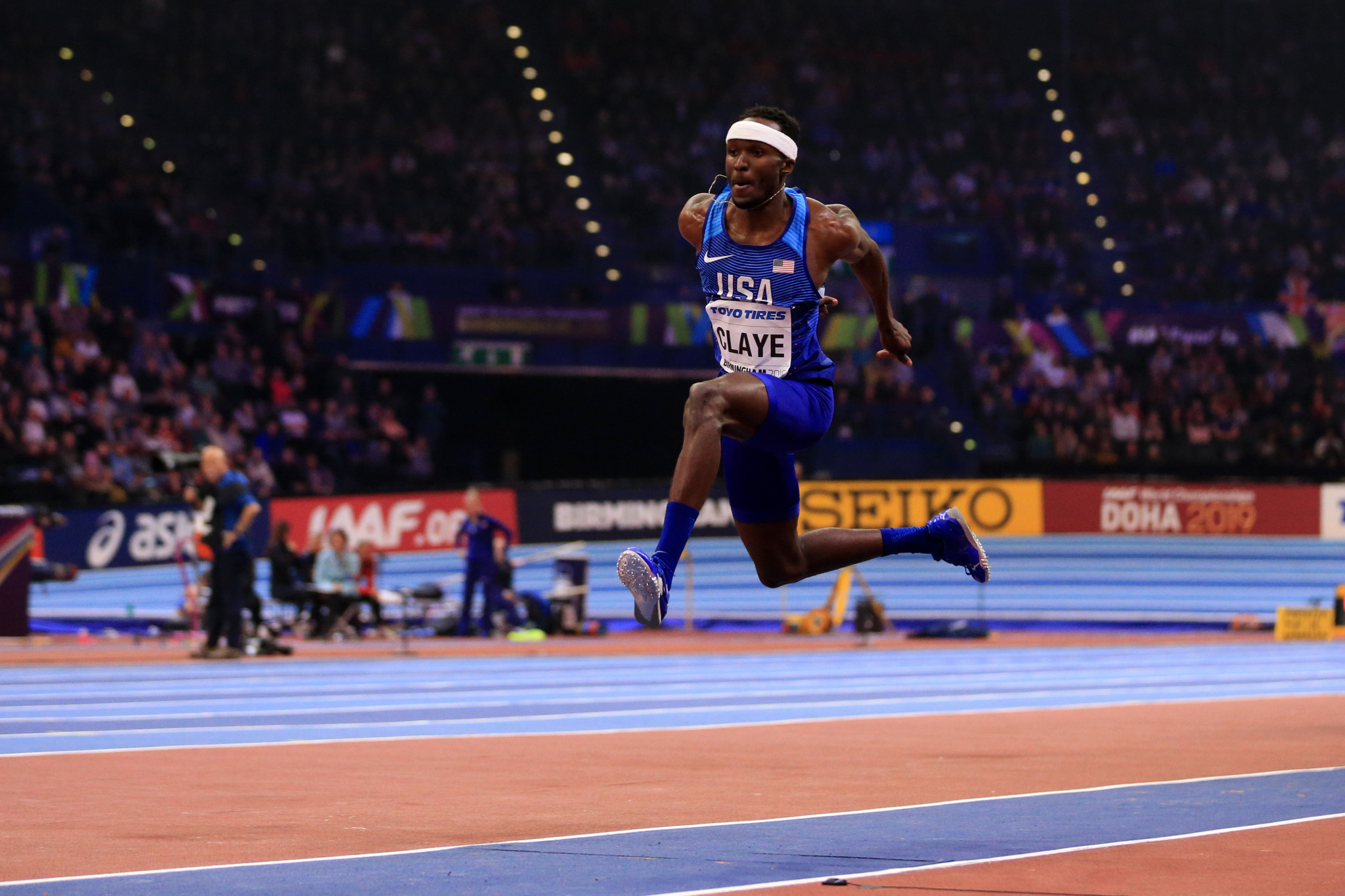 American triple jumper Claye avoids ban over positive clenbuterol test