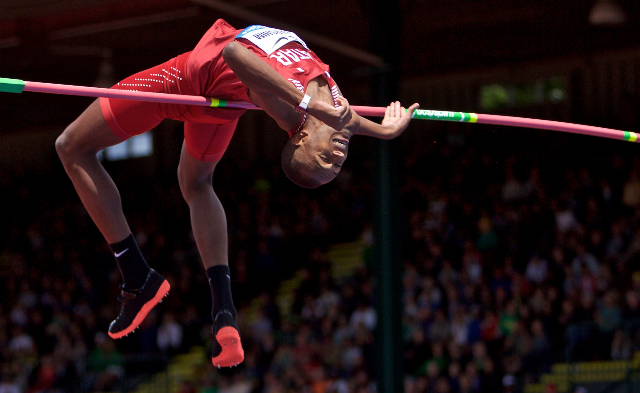Qatar's star athlete Mutaz Essa Barshim will go for gold on October 4 ©Getty Images