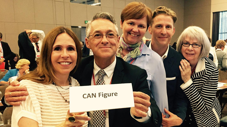 Skate Canada President Leanna Caron was among those to send her condolences following Sylvain Guibord's death ©Skate Canada