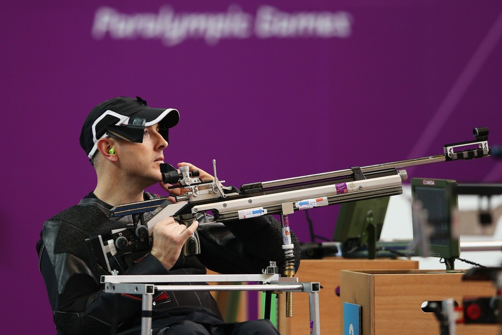 Paralympic shooting champion Michael Johnson feels the