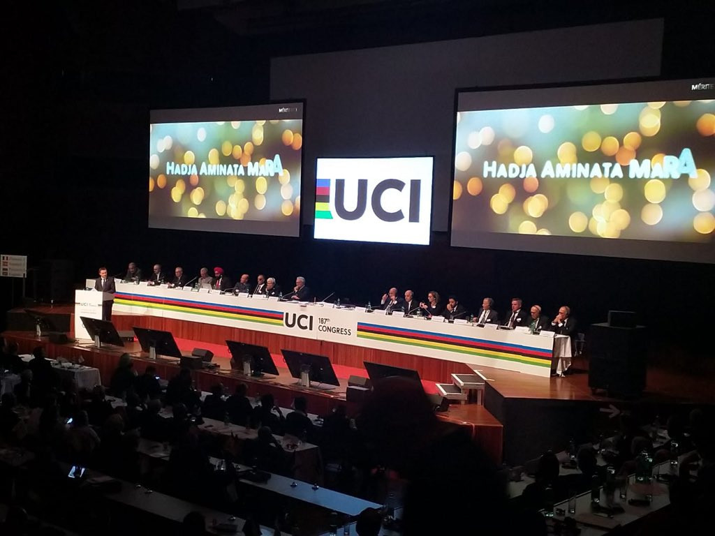 The UCI Congress took place alongside the governing body's World Championships in Innsbruck ©UCI