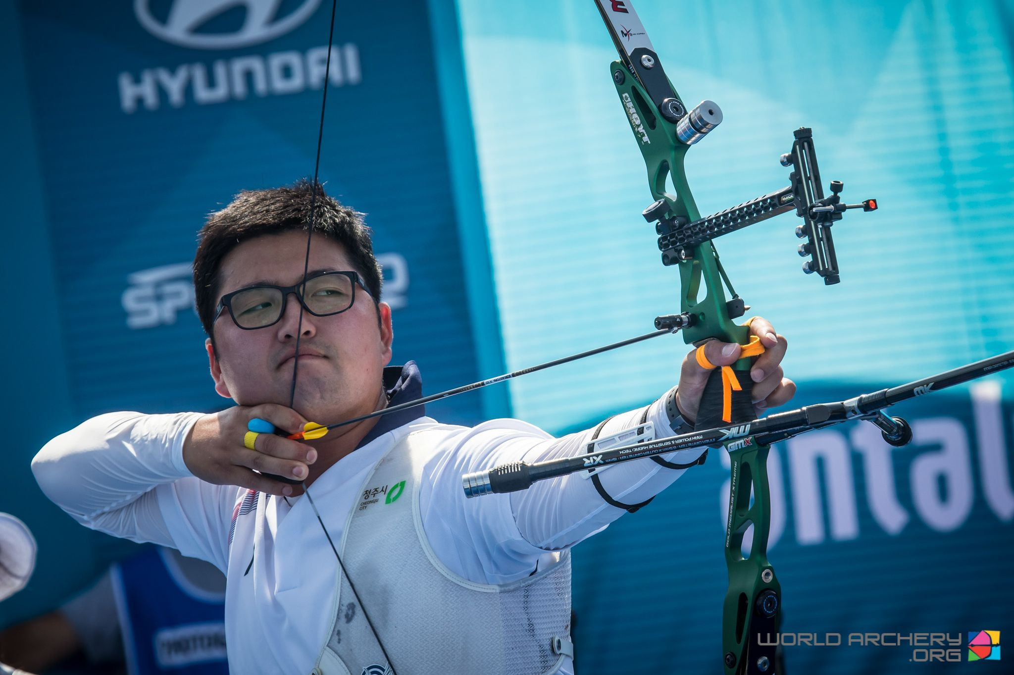 Defending recurve champion Kim Woojin faces strong field at Archery World Cup final in Turkey