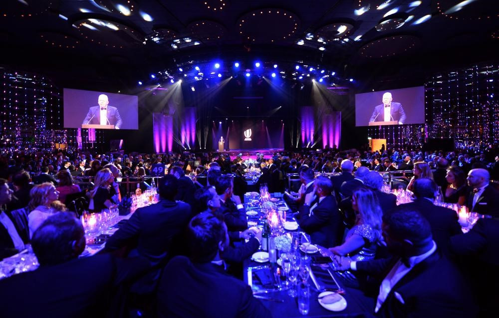 The World Rugby Awards, where Land Rover will now sponsor the