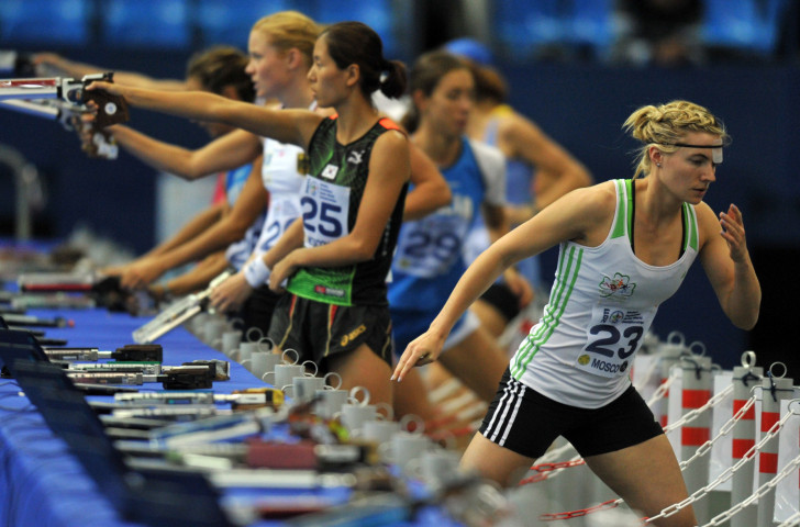 Ireland's Natalya Coyle, sixth in the modern pentathlon at the Rio 2016 Games, will be taking part in the Laser-Run World Championships in Dublin this weekend ©Getty Images