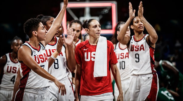 The United States were easy winners over Nigeria in today's FIBA Women's World Cup quarter-final in Tenerife ©FIBA