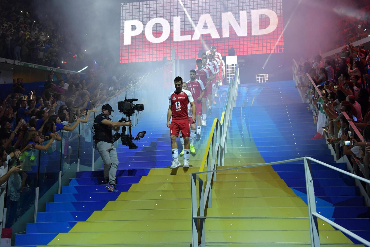 Defending champions Poland eliminate hosts Italy at FIVB Men's World Championships