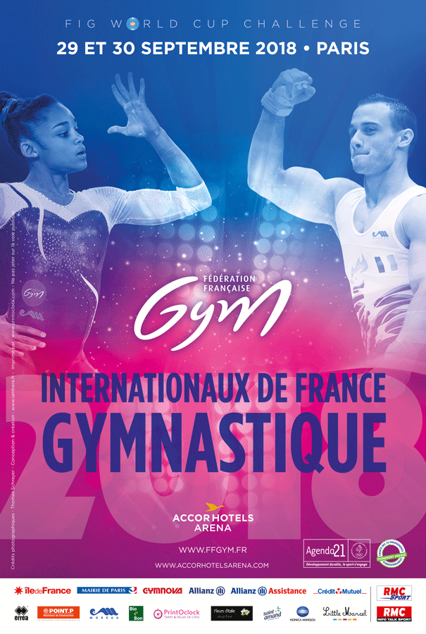 Paris set to stage FIG World Challenge Cup finale
