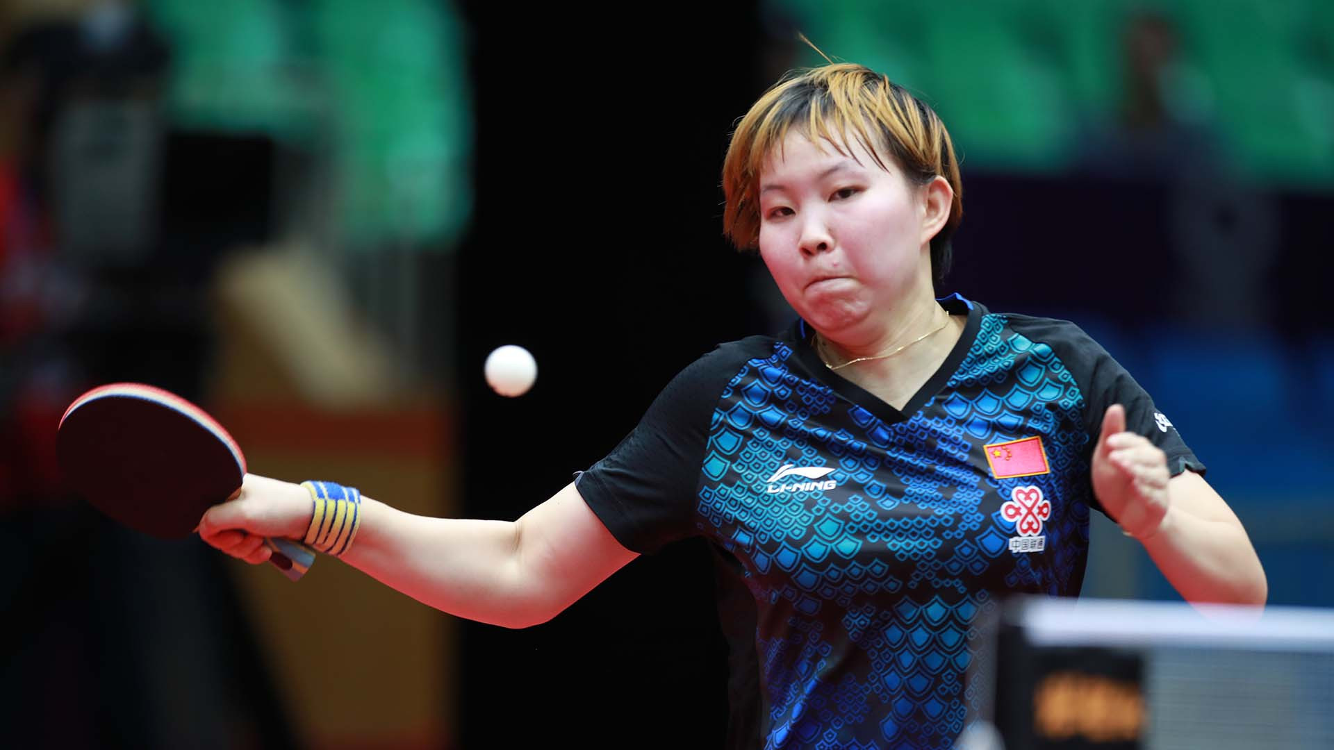 Home player Zhu Yuling looks set on ruling in Chengdu as she defends her ITTF Women's World Cup title ©ITTF