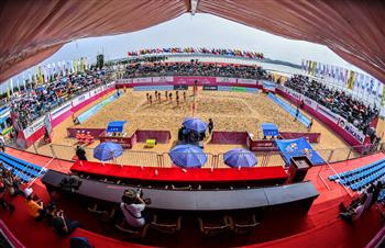 Qinzhou, in China, is standing by to get the FIVB Beach Volleyball World Tour off and running again tomorrow ©FIVB