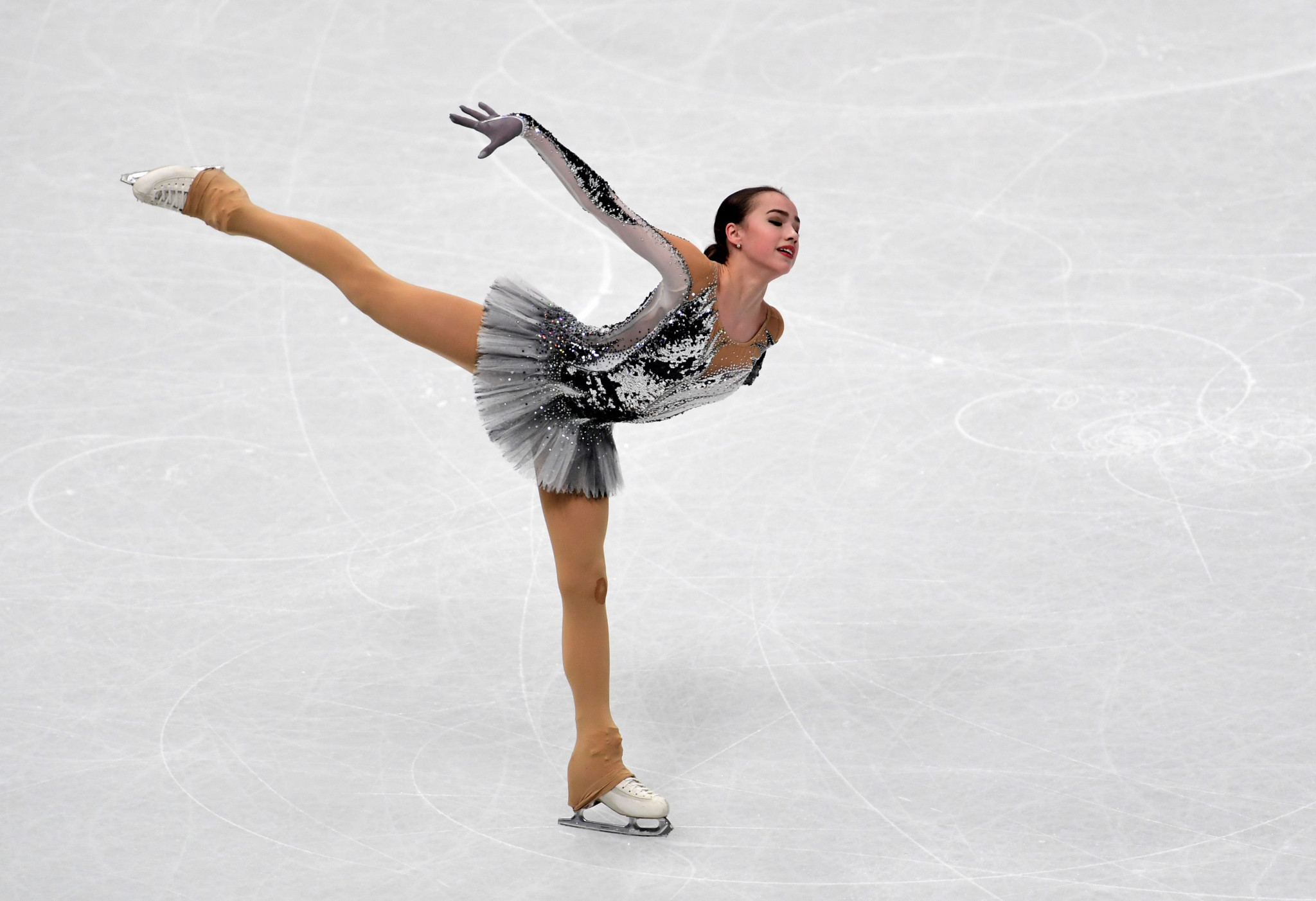 Alina Zagitova claimed she was using her World Championship disappointment as motivation ahead of her season ©Getty Images
