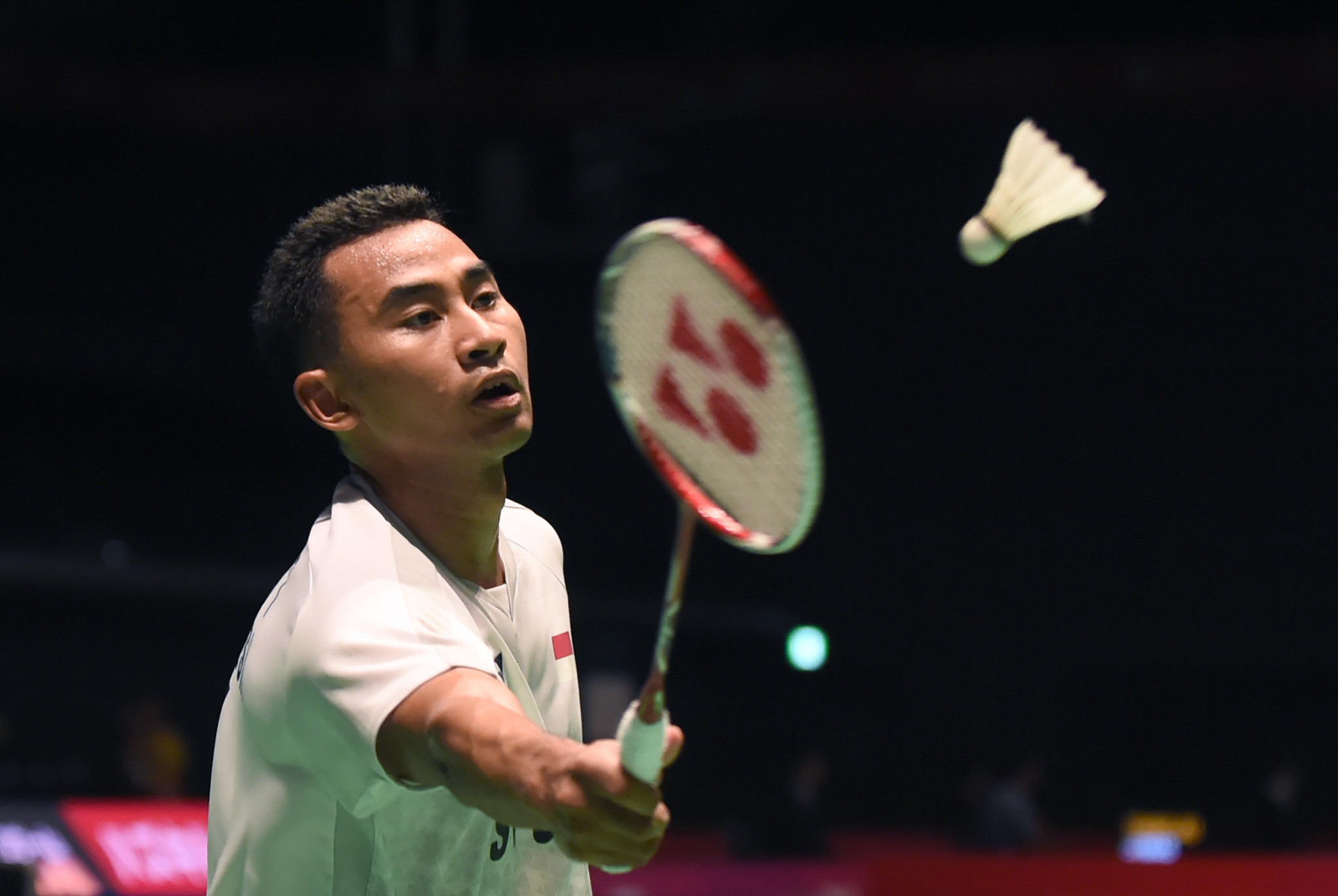 Tommy Sugiarto beat unseeded Indonesian team-mate and Asian Games champion Jonatan Christie ©Getty Images