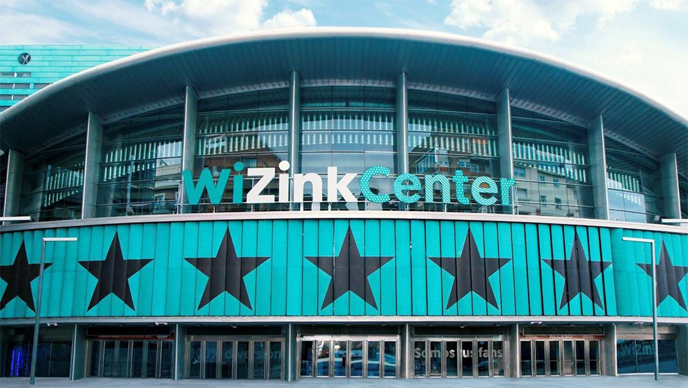 Competition will take place at the WiZink Center in Madrid ©WKF