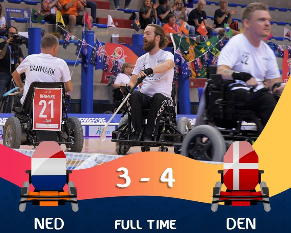 Denmark surprised The Netherlands in the semi-finals ©IWAS