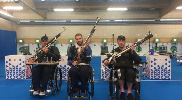 Italy's Liverani completes medal set with world record at Para Shooting World Cup in France