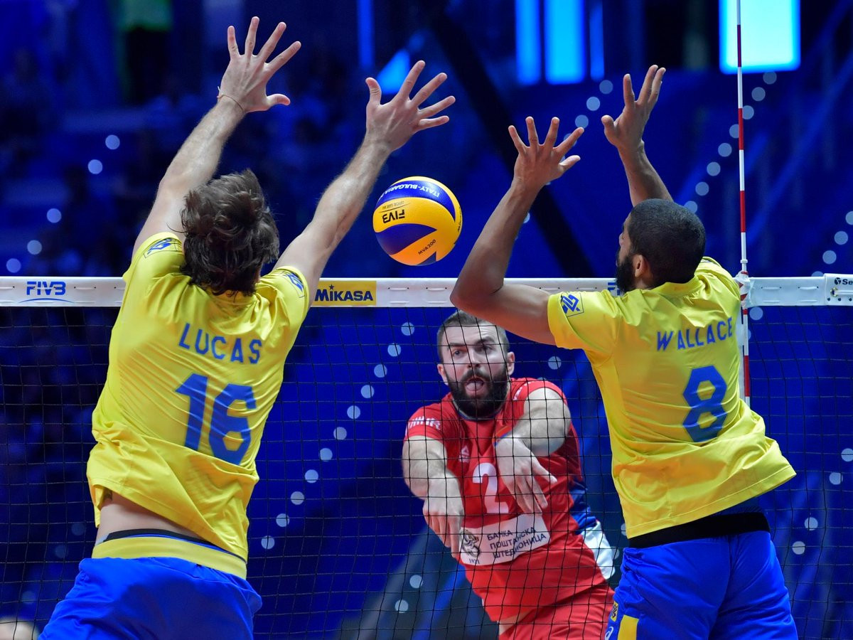 Brazil beat Serbia to progress to the final of the FIVB Men's Volleyball World Championships in Turin ©FIVB