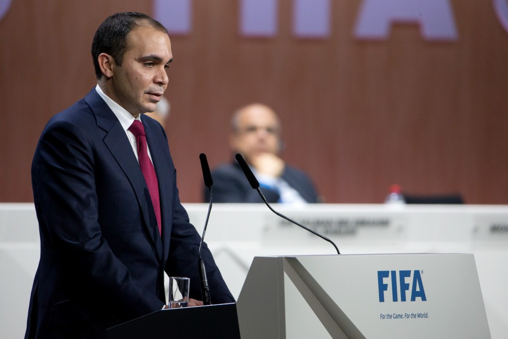 Prince Ali of Jordan is the only candidate to not be suspended ©Getty Images