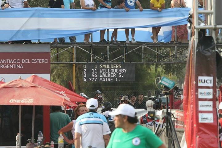 Smulders secures further UCI BMX Supercross World Cup success in Santiago del Estero