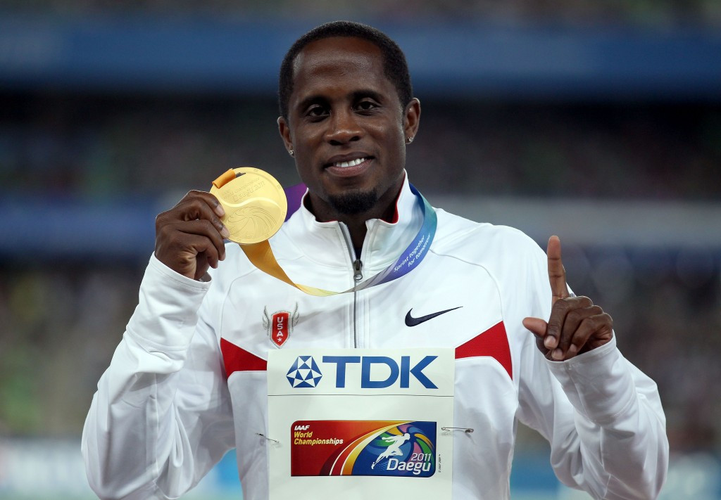 USATF Athletes Advisory Committee chair Dwight Phillips hailed the plan as