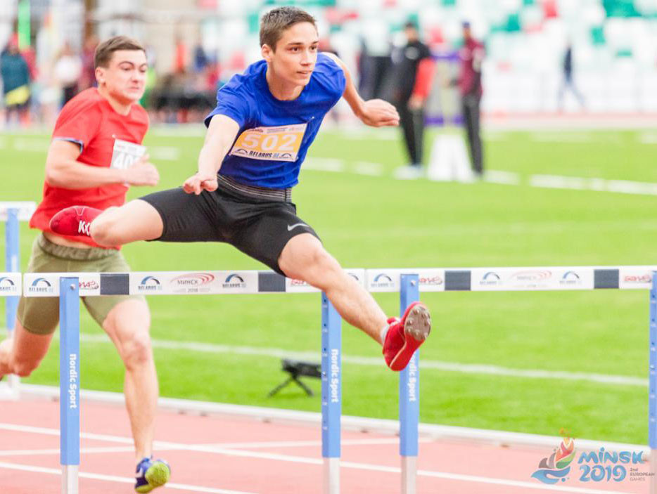 Dynamic New Athletics was tested in Minsk ©Minsk 2019