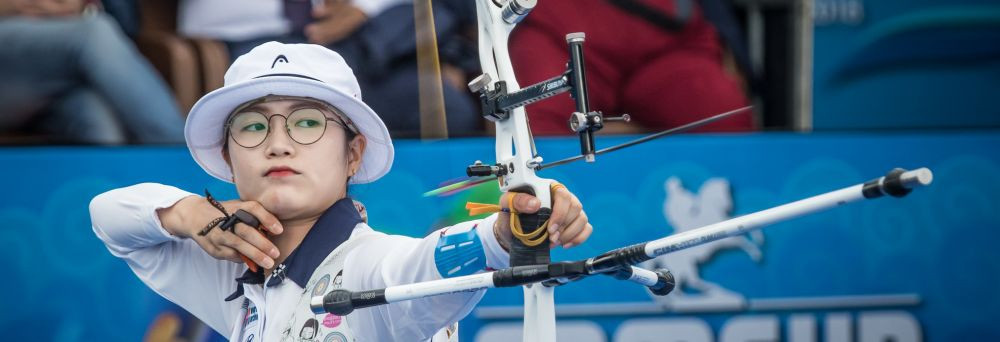 South Korea's Lee ends debut season with women's recurve gold at Archery World Cup Final