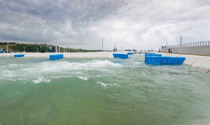 Canoe slalom course at Rio 2016 venue officially unveiled
