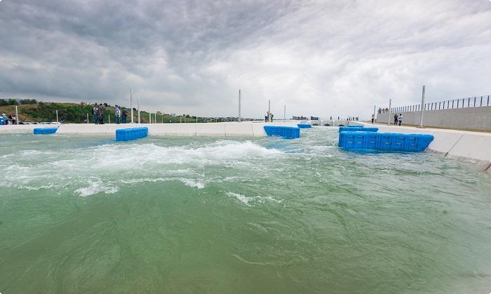 Canoe slalom course at Rio 2016 venue officially unveiled