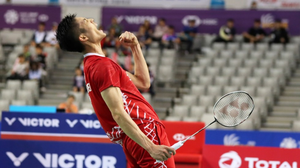 Chou Tien Chen wins third title of 2018 at BWF Korea Open