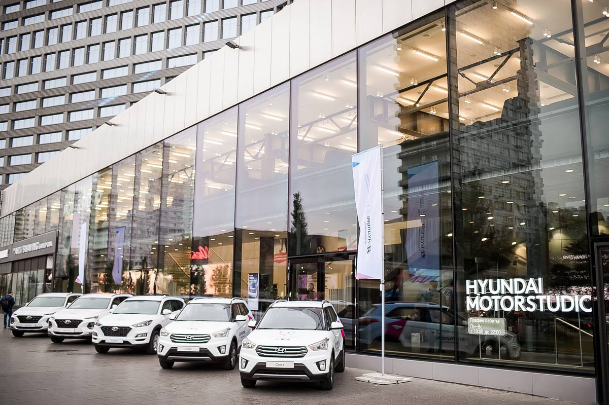 Hyundai has signed a deal with Krasnoyarsk 2019 ©FISU
