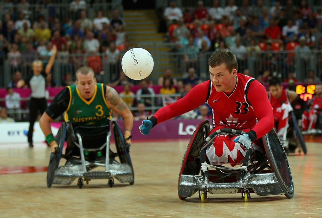 Paralympic silver medallists Canada will be among the wheelchair rugby favourites ©Getty Images