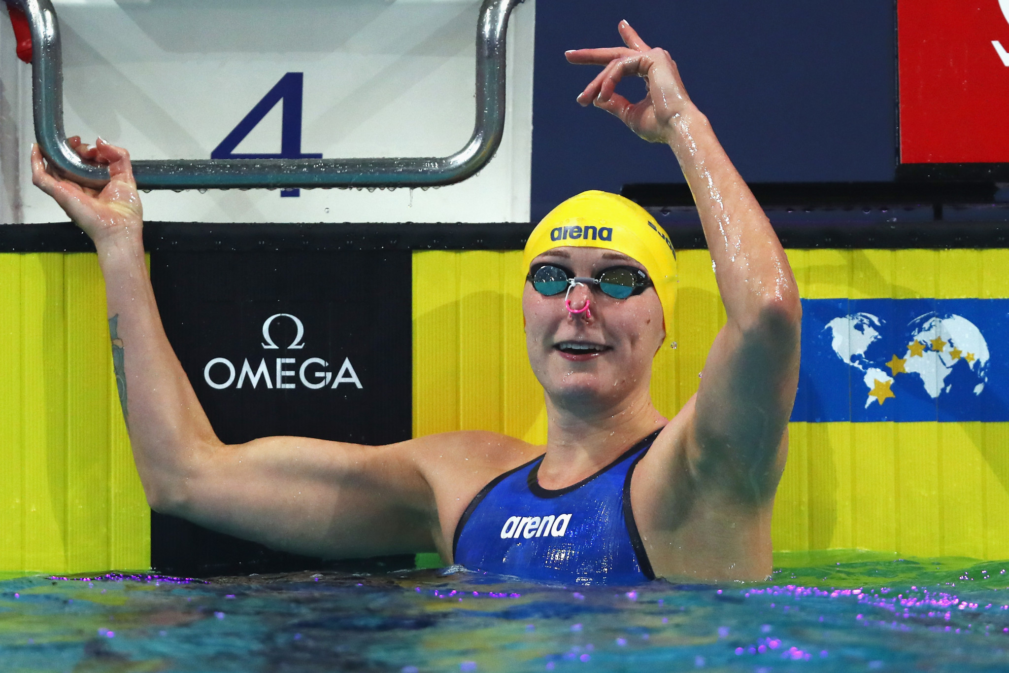 Another record breaking performance from Sjostrom at Eindhoven FINA World Cup