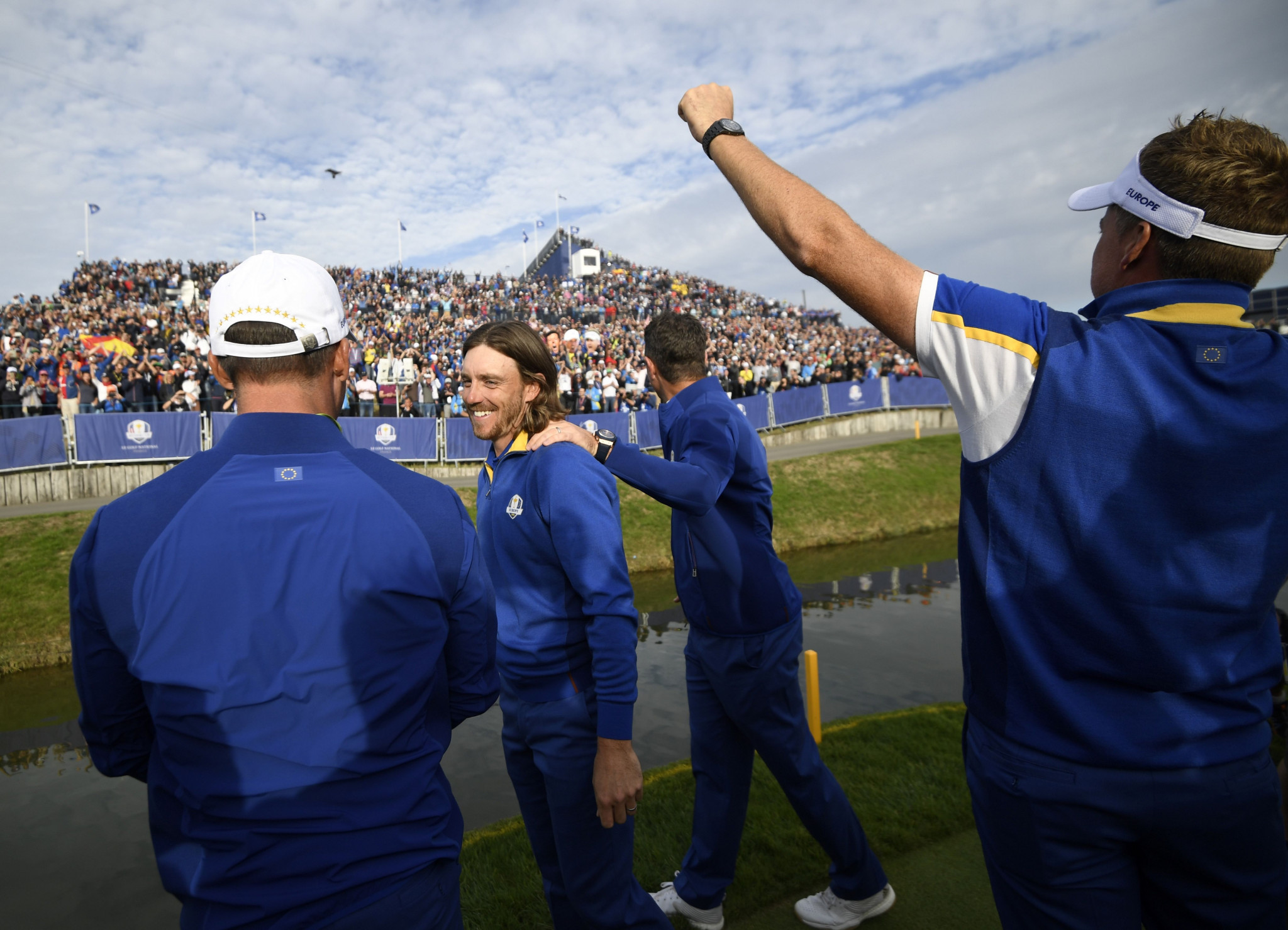 Europe regain Ryder Cup as Molinari and Garcia become history men