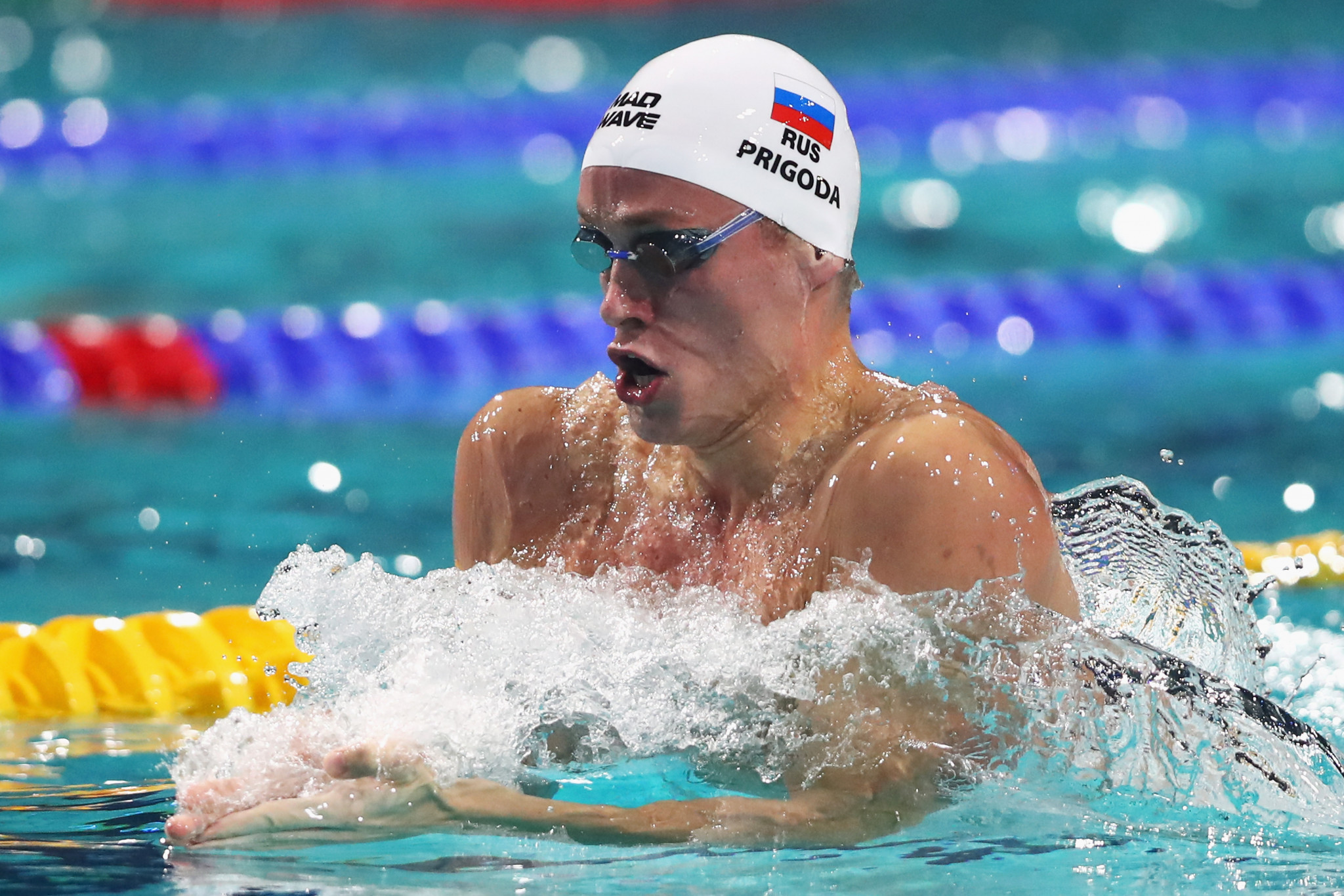 Russia's one gold today came thanks to Kirill Prigoda in the men's 200m butterfly ©Getty Images