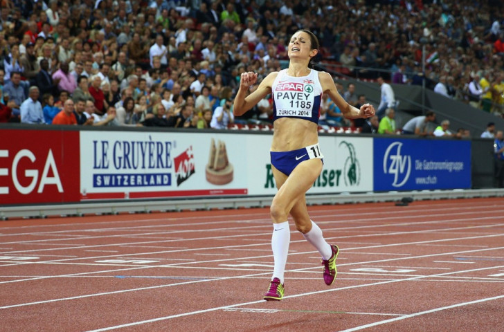 Britain's Jo Pavey, pictured winning last year's European 10,000m title in Zurich, believes thyroid hormone is being used as an illegal performance enhancer by some athletes ©Getty Images