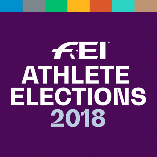 Members elected to International Equestrian Federation Athletes' Committee