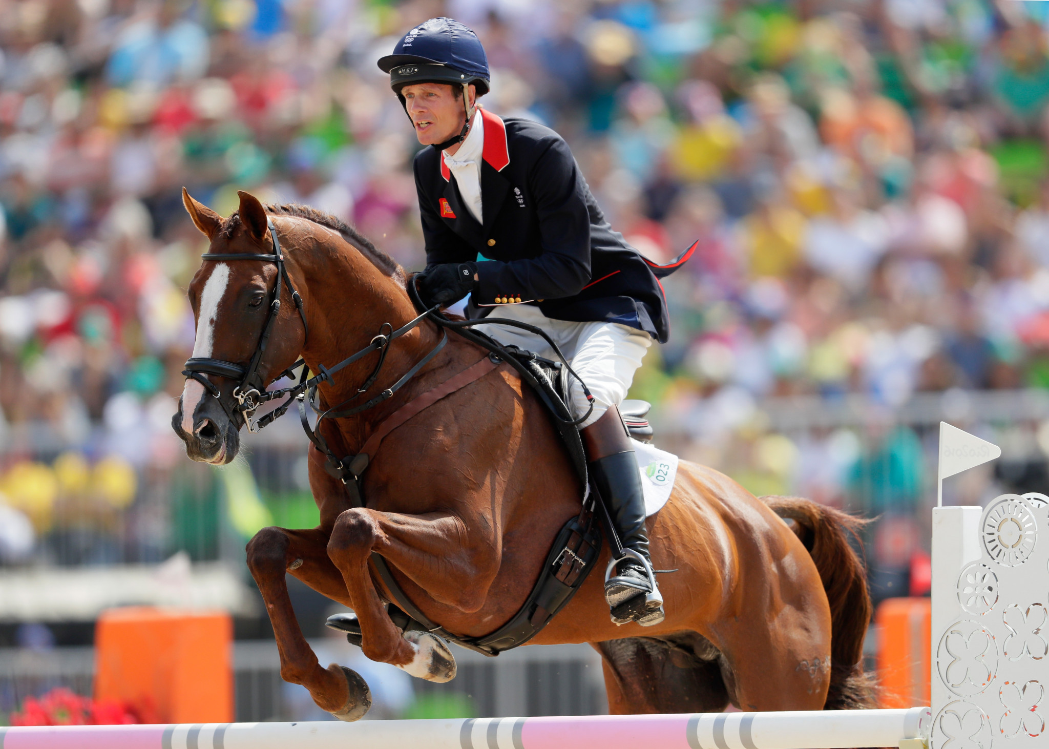 Three-time Olympic medallist William Fox-Pitt has been elected as the eventing representative ©Getty Images
