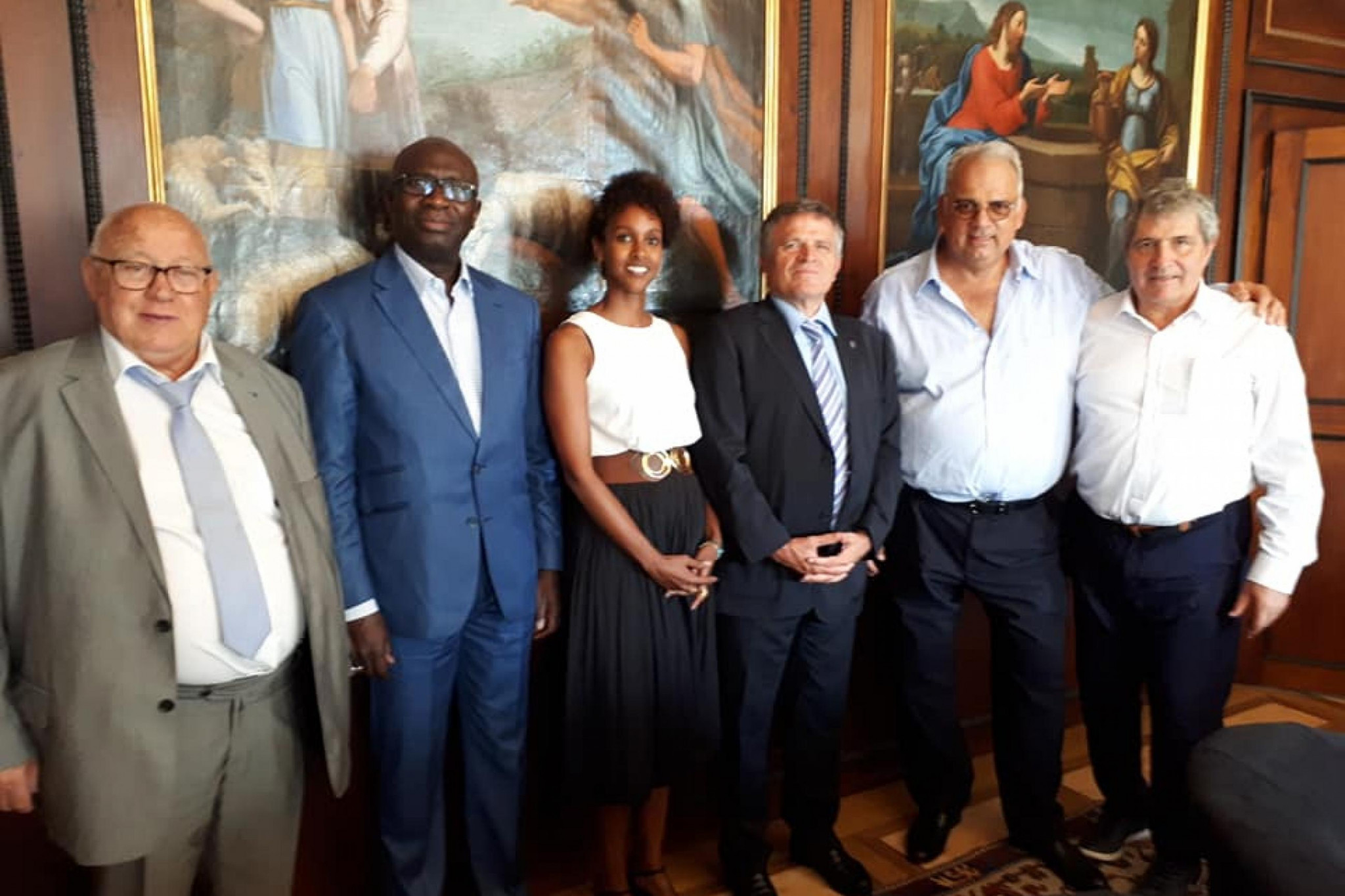 UWW Francophone Committee meet to discuss wrestling development in Africa