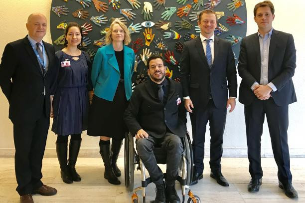 The International Paralympic Committee has joined other global governing bodies to promote human rights in sport ©IPC