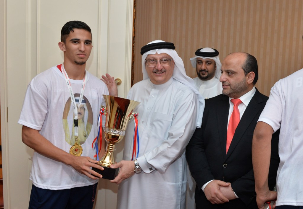 Bahrain Olympic Committee hold reception to congratulate handball players