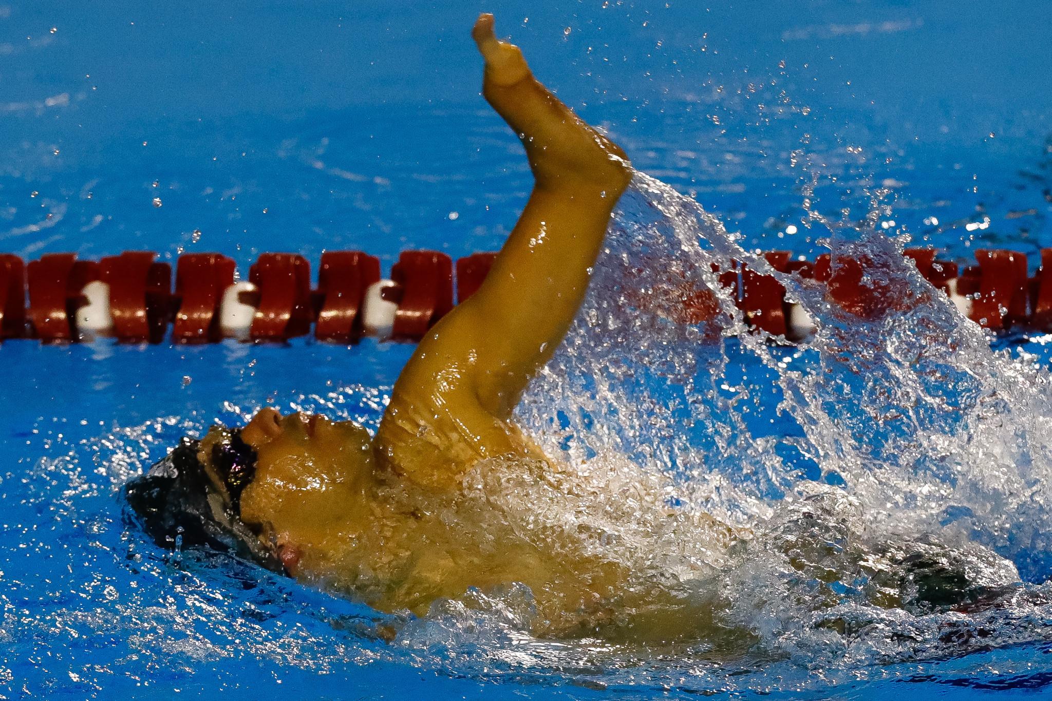 Brazil's Daniel Dias has won the last two men's titles ©Getty Images
