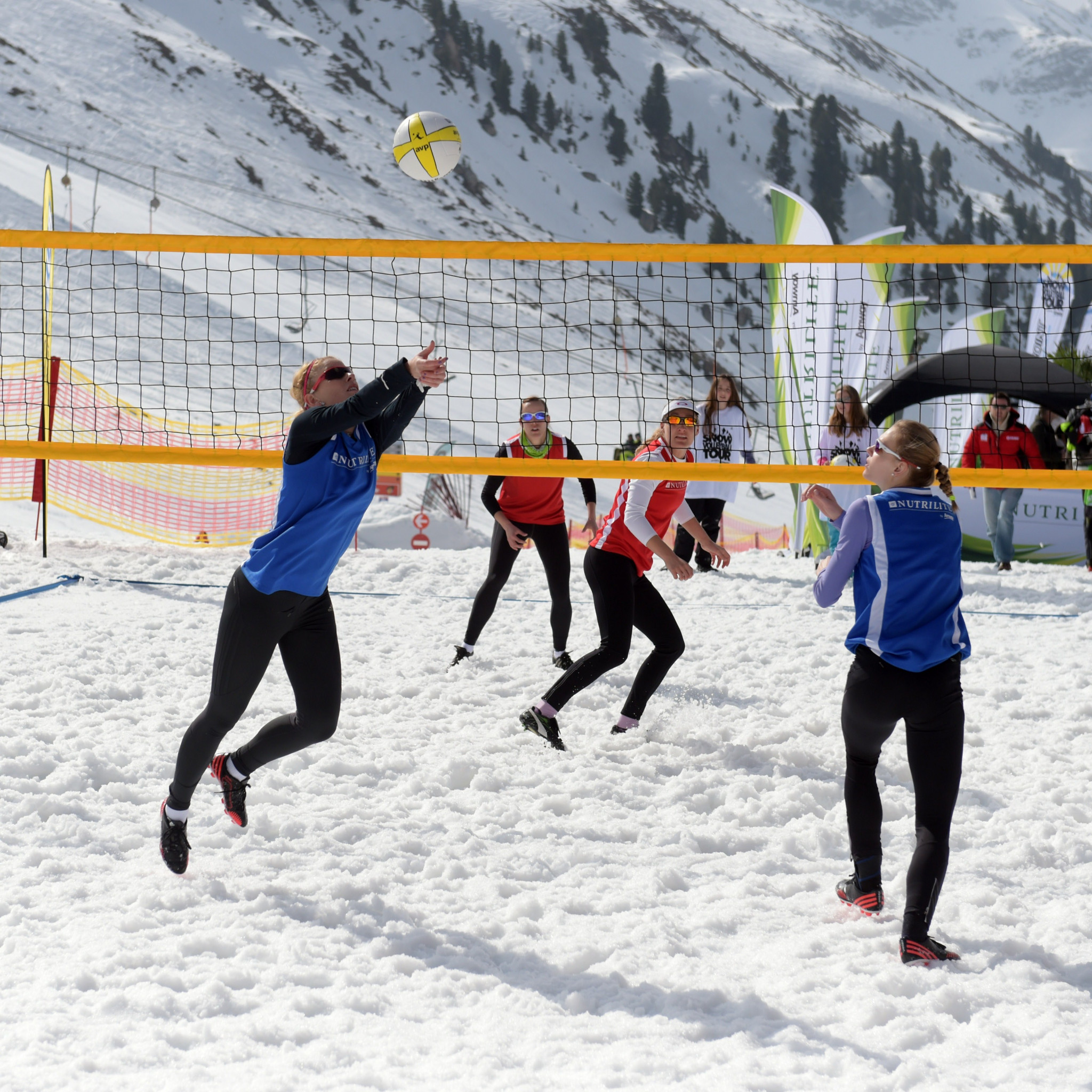 New 3x3 snow volleyball format established in bid to gain Winter Olympic inclusion