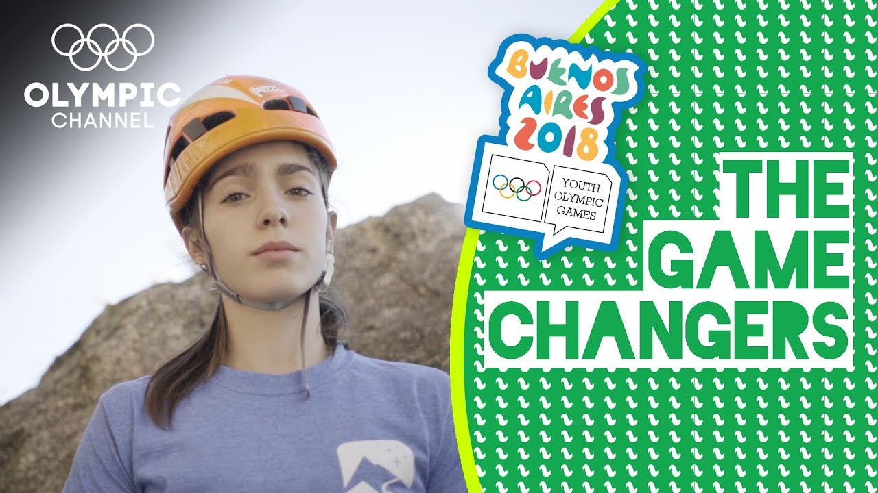 Argentina's Valentina Aguado, due to compete in sport climbing, is among athletes set to compete at Buenos Aires 2018 currently featuring in a new series on the Olympic Channel called