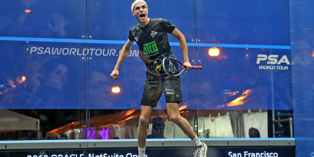 Farag sets up final clash with Elshorbagy with dramatic victory at PSA Oracle NetSuite Open