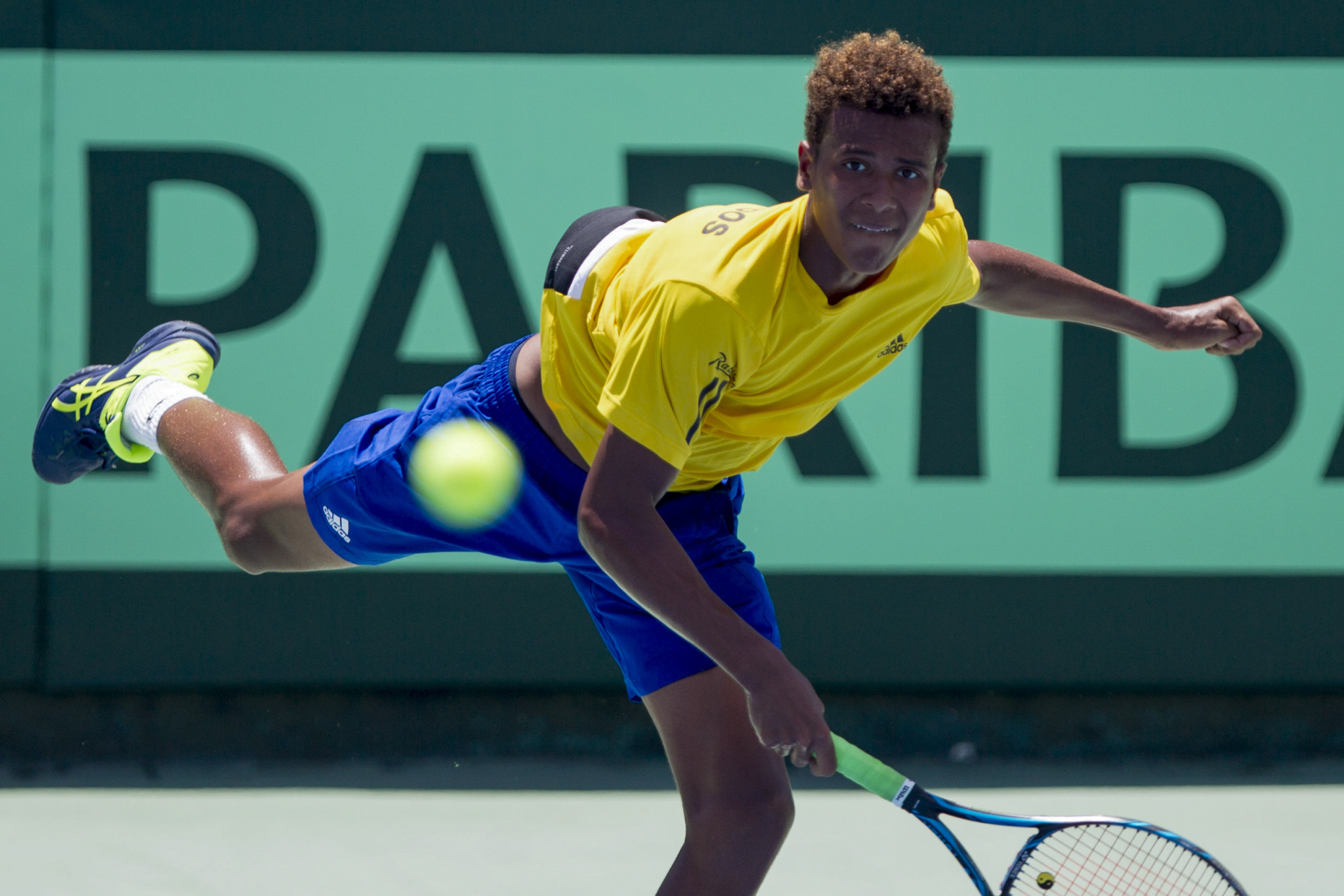 Sandra Osborne was involved with the Barbados Tennis Association who host Davis Cup ties ©Getty Images