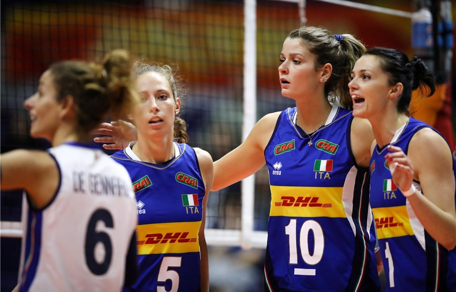 Italy, China, the United States and Russia all won today to book their place in the next round of the Women's Volleyball World Championships in Japan ©FIVB