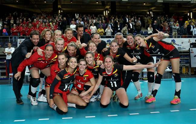 Germany book quarter-final spot with victory over Hungary at Women's European Volleyball Championship