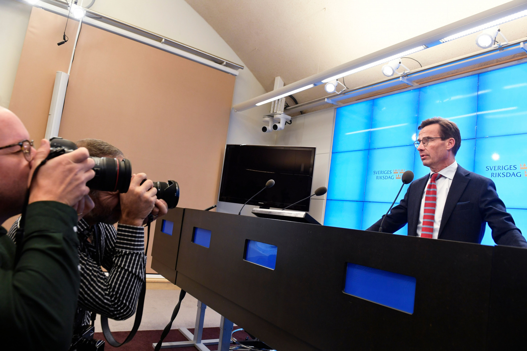 Stockholm 2026 will be hoping the potential appointment of Ulf Kristersson as Sweden's new Prime Minister will break the political deadlock in the country and help them gain Government support for their bid ©Getty Images